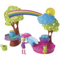 Boneca Polly Pocket Diversão na Chuva - com Acessórios Mattel