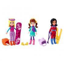 Boneca Polly Pocket - Diversão na Neve - Mattel - Mattel