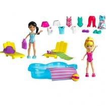 Boneca Polly Pocket Estações da Polly - com Acessórios Mattel
