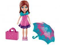 Boneca Polly Pocket Férias Com Amigas Lila - com Acessórios Mattel