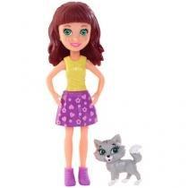 Boneca Polly Pocket Lila com Bichinho - Mattel