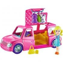Boneca Polly Pocket Limousine Fashion - DWC27 - Mattel -