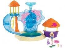 Boneca Polly Pocket Parque Aquático com Acessórios - Mattel