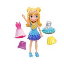 Boneca Polly Pocket Pronta para Festa  - com Acessórios Mattel