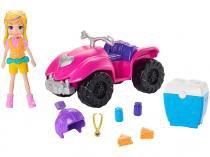 Boneca Polly Pocket Quadriciclo Fabuloso - com Acessórios Mattel