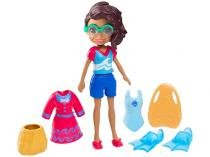 Boneca Polly Pocket Shani Surfista - com Acessórios Mattel