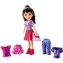 Boneca Polly Pocket Super Fashion - Crissy Fashion - Mattel - Mattel