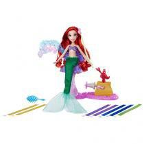 Boneca Princesas Disney Ariel - Cabelos Mágicos Hasbro