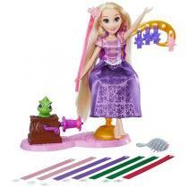 Boneca Princesas Disney Rapunzel  - Cabelos Mágicos Hasbro