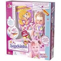 Boneca Sapekinha Colors com Acessórios - Milk Brinquedos