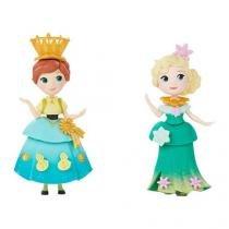 Bonecas Disney Frozen 2 Peças - com Mini Cenário Aniversário Anna Hasbro