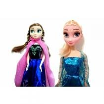 Bonecas Frozen Anna e Elsa (Similar) - Center Sul -