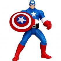 Boneco Avengers 6 15cm A1822/A1826 - Hasbro - Capitão América - Hasbro