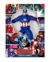 Boneco Avengers Capitão  América Revolution - Mimo -