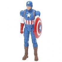 Boneco Avengers Capitão América Titan Hero Series - Hasbro