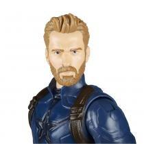 Boneco Avengers Titan Hero Capitão América 30cm - Hasbro -