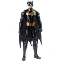 Boneco Batman Black Suit  - DC Justice League Action 30cm Mattel