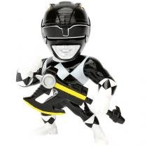 Boneco Black Ranger Metals Power Rangers - DTC