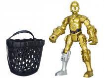 Boneco C-3PO Star Wars Hero Mashers - com Acessórios - Hasbro