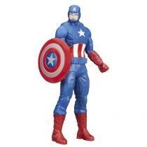 Boneco Capitão América Marvel 17,8cm  - Hasbro