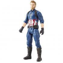 Boneco Capitão America Titan Vingadores Guerra Infinita Hasbro -