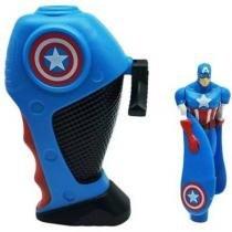 Boneco Capitão América Voador Flying Heroes Captain America - Dtc -