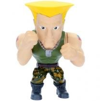 Boneco Colecionável Metals - Street Fighter Guile - 10cm DTC