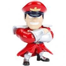 Boneco Colecionável Metals - Street Fighter - M. Bison DTC