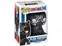 Boneco Colecionável Pop Captain America Civil War - Marvel Black Panther 10,5cm Funko