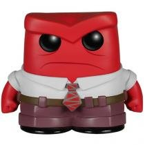 Boneco Colecionável Pop - Disney Pixar Inside Out - Anger Funko