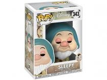Boneco Colecionável Pop Disney Snow White - Sleepy 10,5cm Funko