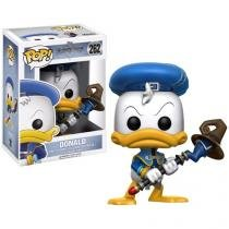 Boneco Colecionável Pop Kingdom Hearts Donald - 10,5cm Funko