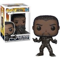 Boneco Colecionável Pop Marvel Black Panther - 10,5cm Funko