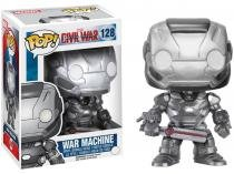 Boneco Colecionável Pop Marvel Captain America - Civil War War Machine 10,5cm Funko