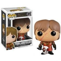 Boneco Colecionável Pop Vinyl GOT Tyrion Lannister - with Scar Battle Armour 16cm Funko