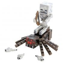 Boneco com Acessórios - Minecraft - Spider Jockey - Multikids - Disney - Multikids