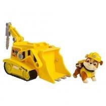Boneco com Veículo - Patrulha Canina - Super Filhote Crane - Sunny - Sunny