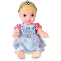 Boneco E Personagem Cinderela Baby Vinil 27Cm. Mimo - Mimo