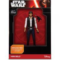 Boneco E Personagem Star Wars Han Solo 40Cm. Mimo - Mimo