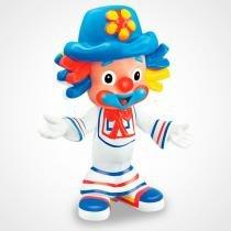 Boneco em Vinil Palhaços Patati e Patatá Líder Brinquedos - Lider brinquedos