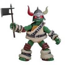 Boneco Figura de Ação Colecionável Tartarugas Ninja Raphael The Dwarf Barbarian 12CM BR030 Multilaser - Multikids