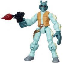 Boneco Greedo Star Wars Hero Mashers - com Acessórios - Hasbro
