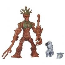 Boneco Groot Marvel Super Hero Mashers - com Acessórios Hasbro
