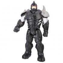 Boneco Homem Aranha Titan Hero Rhino com Armadura - Hasbro - hasbro