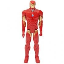 Boneco Homem de Ferro Titan Hero Series Marvel - Iron Man 33,6cm Hasbro