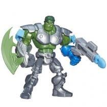 Boneco Hulk Marvel Super Hero Mashers 22,9cm - com Acessório Hasbro