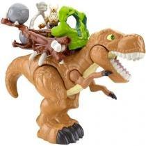 Boneco Imaginext Dino Deluxe T-Rex com Acessórios - Fisher-Price