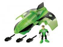 Boneco Imaginext Lanterna Verde 18cm - Super Friends Veículo com Acessórios Fisher-Price