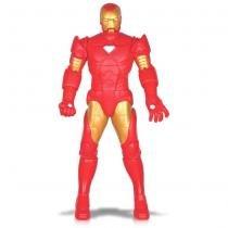 Boneco Iron Man Homem de Ferro Gigante Articulado 0456 - Mimo - Mimo