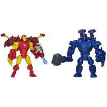 Boneco Iron Man vs. Iron Monker - Marvel Super Hero Mashers com Acessórios Hasbro
